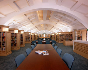 The Cecil B. DeMille Reading Room of the Margaret Herrick Library.
