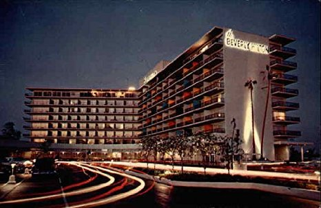 L.A. SLEEPERS Locations: Beverly HiltonHotel